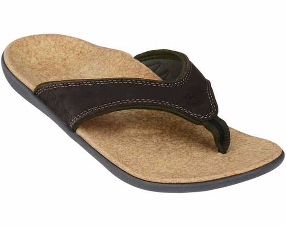 Spenco Yumi Leather Men's Sandal