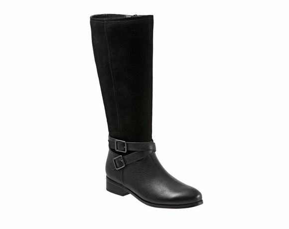 Trotters Larkin Wide Calf - Women's Boot