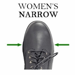 women's narrow shoes