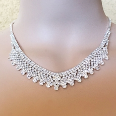 PERFECTO RHINESTONE NECKLACE SET