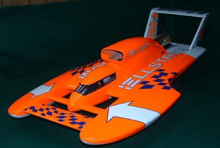 Butch's RC Boat Company T-6 Hull Miss Elam (Mount Vernon, Iowa)