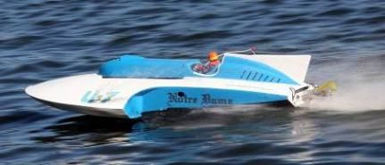RC Boat Classic Thunderboat