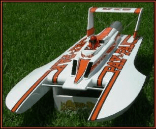 Steve's 1/8 scale Hydro (RC Boat Company)
