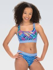 2021 Womens Uglies Color Clash Workout Two-Piece Swimsuit