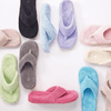 ACORN Women's Spa Thong Slippers - Pink