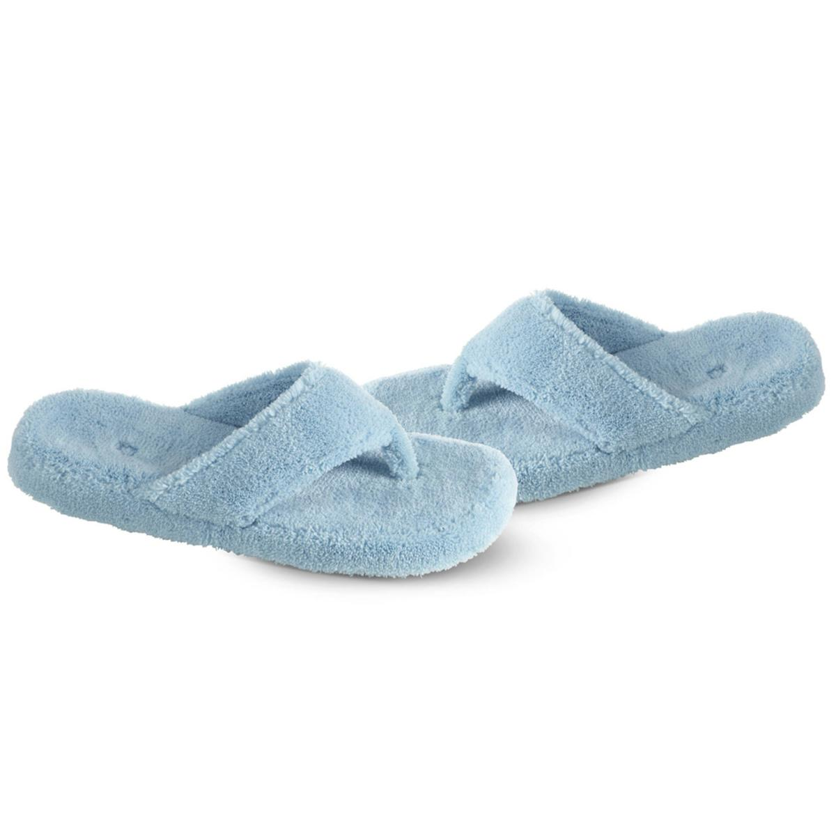 7dcfe3ad2 ACORN Women s Spa Thong Slippers - Turq - The Warming Store