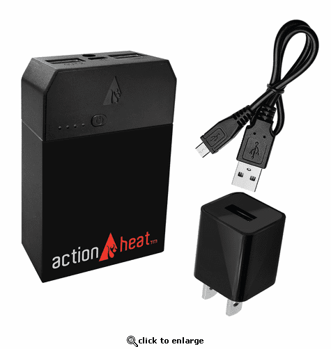 ActionHeat 5V 6000mAh Power Bank Kit
