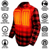 ActionHeat 5V Battery Heated Flannel Shirt