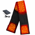 ActionHeat 5V Battery Heated Fleece Scarf
