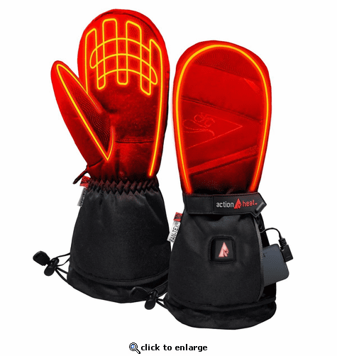 ActionHeat 5V Battery Heated Mittens