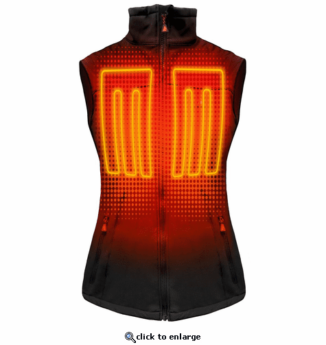 ActionHeat 5V Battery Heated Softshell Vest - Women's