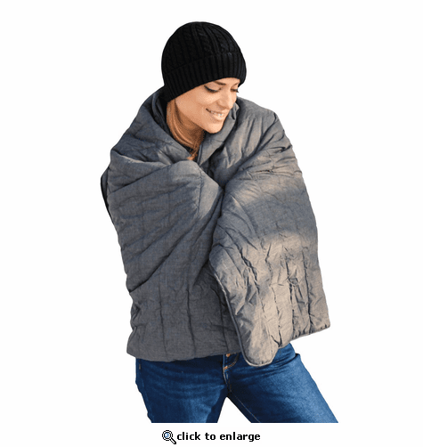 ActionHeat 7V Battery Heated Throw Blanket