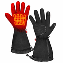 ActionHeat AA Men's Fleece Heated Gloves 2.0