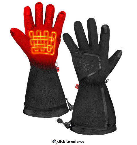 ActionHeat AA Women's Fleece Heated Gloves 2.0