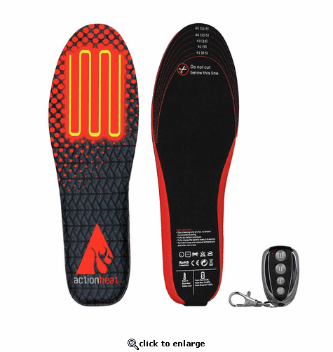 Open Box ActionHeat Rechargeable Battery Heated Insoles