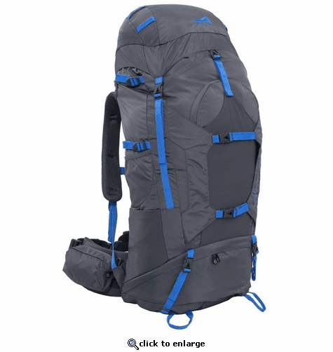 ALPS Mountaineering Caldera 75 Backpack - Gray/Blue
