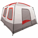 ALPS Mountaineering Camp Creek Two-Room Tent - Gray/Red