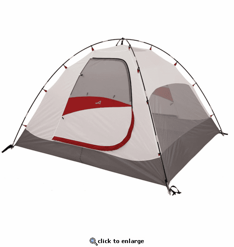 ALPS Mountaineering Meramac 4-Person Tent - Gray/Red