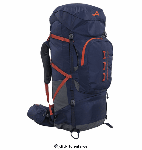 ALPS Mountaineering Red Tail 80 Backpack - Navy/Chili