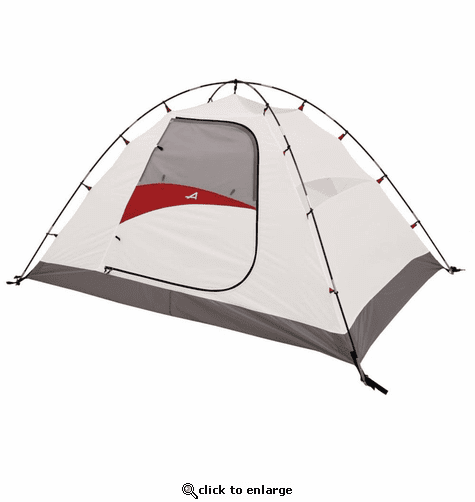 ALPS Mountaineering Taurus 4-Person Tent - Gray/Red