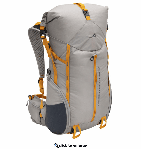 ALPS Mountaineering Tour 35-45L Backpack - Gray/Apricot
