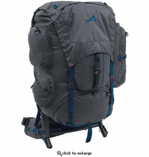 ALPS Mountaineering Zion 64 Backpack - Gray/Blue