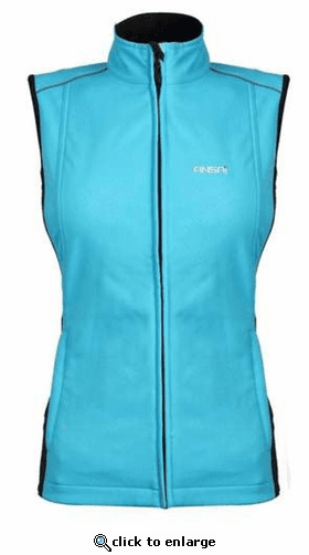 Ansai Mobile Warming Women's Golf Softshell Vest