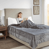 Beautyrest 100% Polyester Solid Microlight to Solid Microlight Heated Blanket - Full