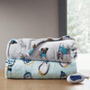 Beautyrest Oversized Plush Printed Heated Throw - 60