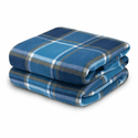 Biddeford Blankets Comfort Knit Heated Throw with Analog Controller