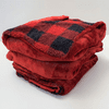 Biddeford Blankets Velour/Sherpa Heated Throw with Digital Controller