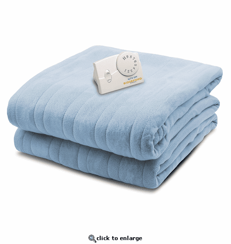 Biddeford Comfort Knit Fleece Heated Blanket - Full
