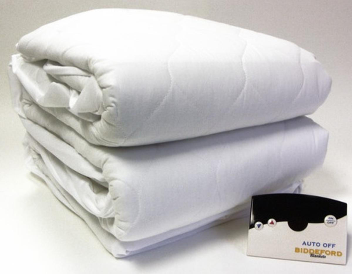 Biddeford Automatic Heated Mattress Pad Queen Christmas Gift Store