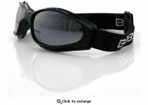Bobster Crossfire Goggles with Smoked Lenses