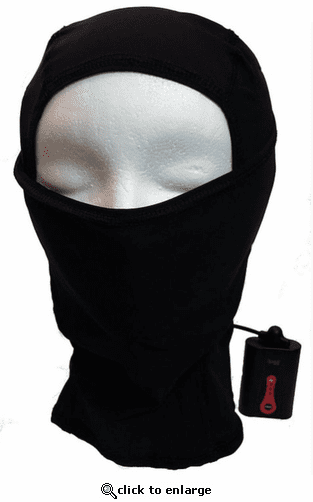 California Heat 7V Battery Heated Balaclava Helmet Liner