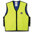 Ergodyne Chill-Its 6665L Evaporative Cooling Vest - Hi-Viz Lime