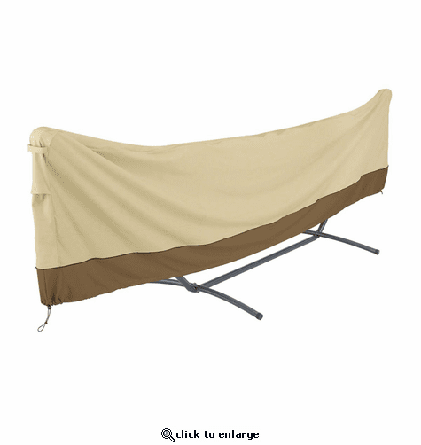 Classic Accessories Veranda Water-Resistant 15 Foot Standard Brazilian Hammock and Stand Cover