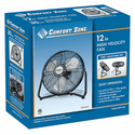 Comfort Zone 12 Inch High Velocity Cradle Fan