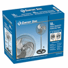 Comfort Zone 18 Inch High Velocity Oscillating Fan