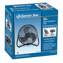 Comfort Zone 20 Inch High Velocity Cradle Fan