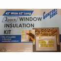 Comfort Zone DIY Window Insulation Kit - 3 Pack