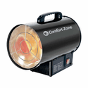 Comfort Zone CZPP100 Radiant Propane Portable Forced Air Heater - Black