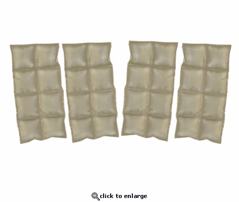 Cool Pax Phase Change Cooling Military Vest Inserts w/ Velcro Hook - Extra Set