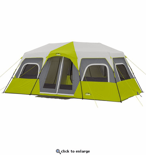 Core Equipment 12 Person Instant Cabin Tent 18 x 10 ft