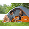 Core Equipment 3 Person Dome Tent 7 x 7 ft
