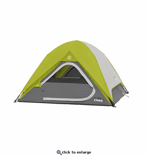 Core Equipment 3 Person Instant Dome Tent 7 x 7 ft