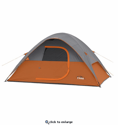 Core Equipment 4 Person Dome Tent 9 x 7 ft