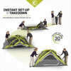 Core Equipment 4 Person Instant Dome Tent 9 x 7 ft