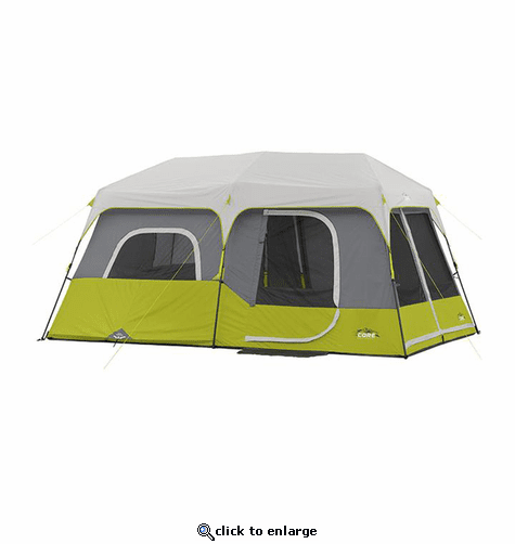 Core Equipment 9 Person Instant Cabin Tent 14 x 9 ft