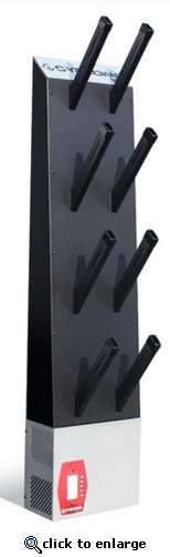 Cyclone 4 Pair Wall Mount Boot and Glove Dryer